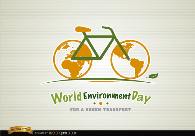 Free Bicycle environment day green transport