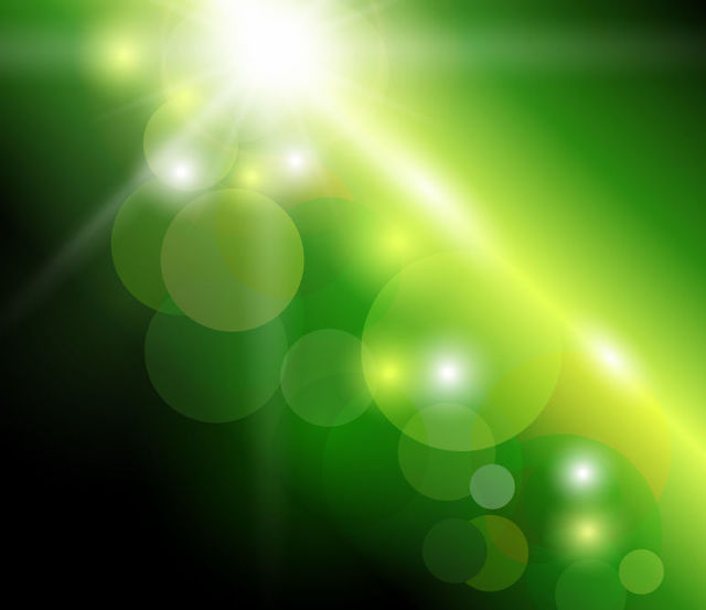 Free Green Background with Natural Bokeh Sunlight