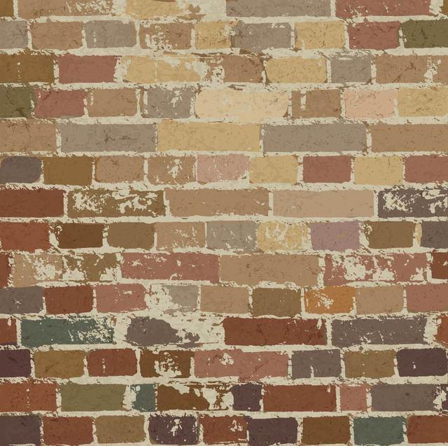 Free Grungy Vintage Brick Wall Pattern