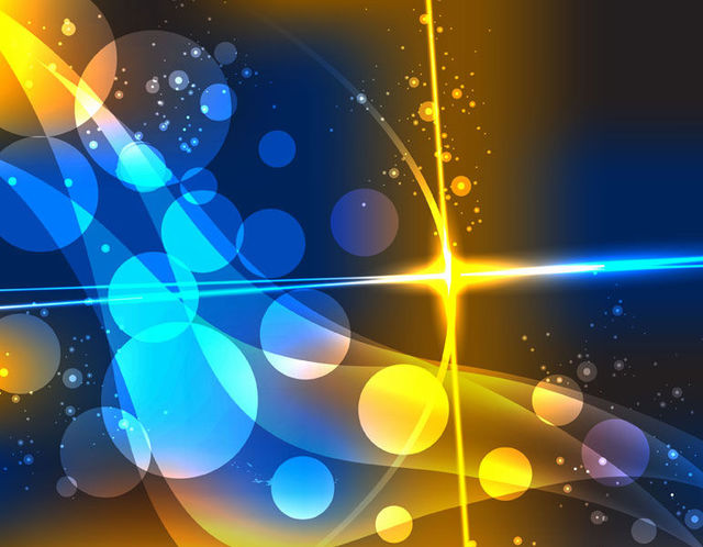 Free Colorful Abstract Bokeh Bubbles Dynamic Background