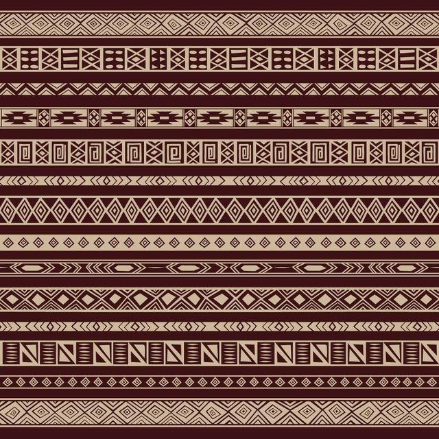 Free Rich Ethnic Seamless Pattern Background