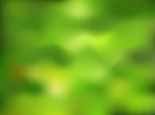 Free Blurry Green Nature Background
