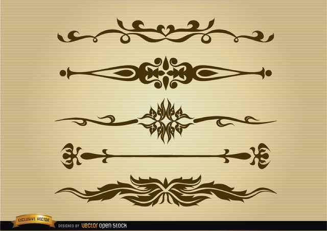 Free Ornamental dividers set
