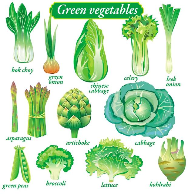 Free Green Vegetable Pack