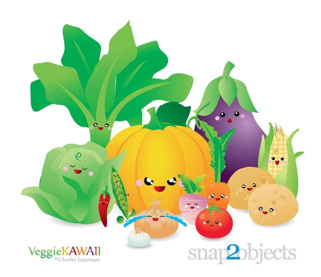 Free Fresh Kawai Vegetable Pack