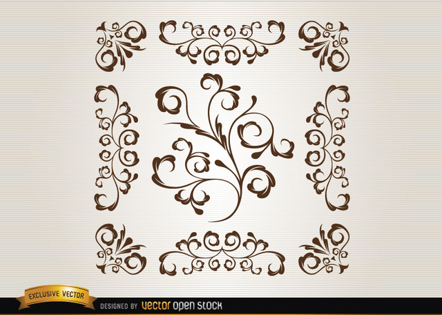 Free Ornamental swirls