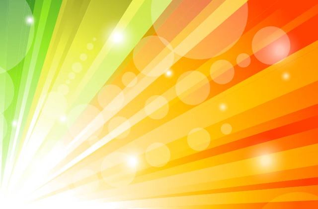 Free Glorious Colorful Sun Shine Background