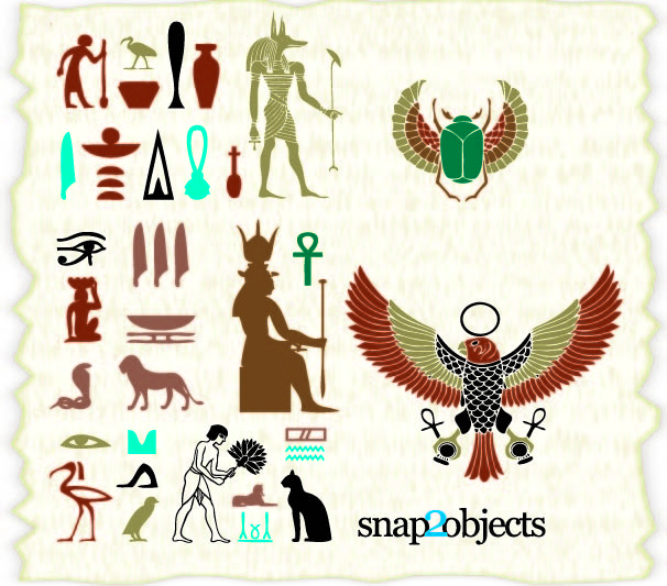 Free Egyptian Ancient Culture Element Pack