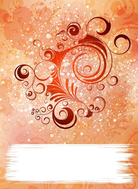 Free Colorful Grungy Background with Swirls