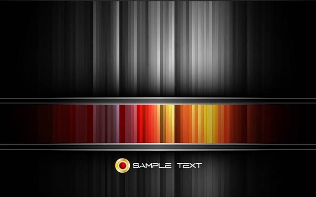 Free Black and Colorful Striped Background Template
