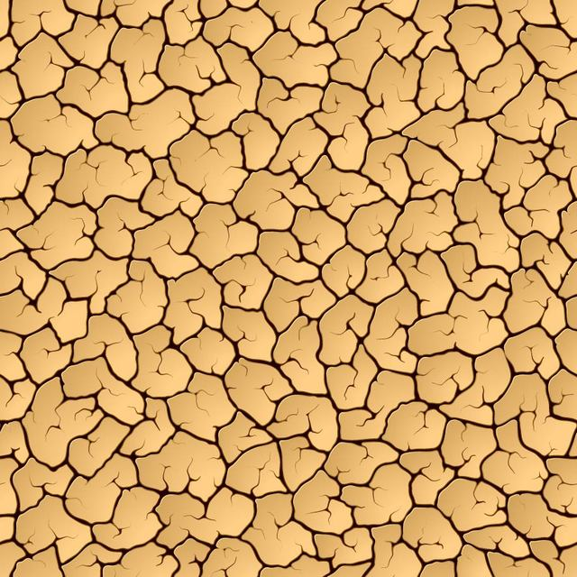 Free Dry Cracked Ground Textured Background