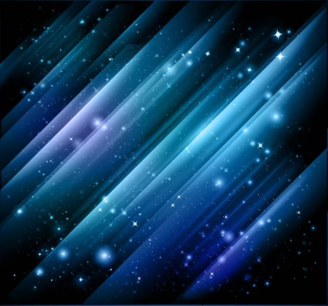 Free Abstract Sparkling Cosmos Background