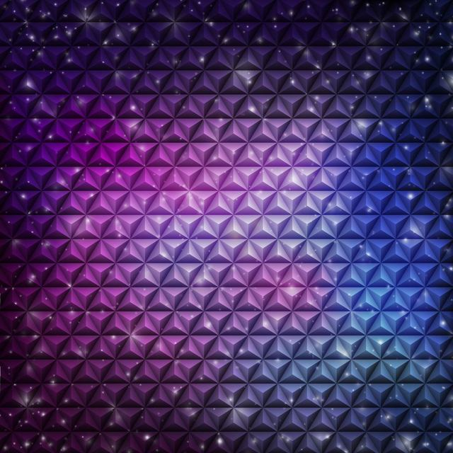 Free Abstract Embossed Cubic Pattern Violet Background