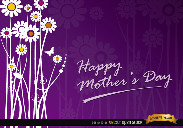 Free Mother's day flowers gift card