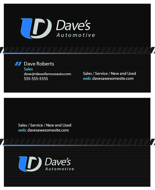 Free vectors 1001freedownloads free automotive dark business card reheart Images