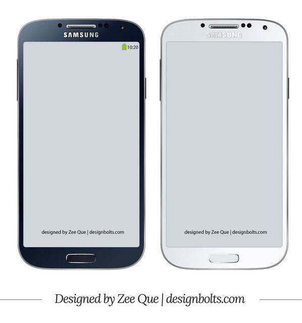 Free Samsung Galaxy S4 Mockup