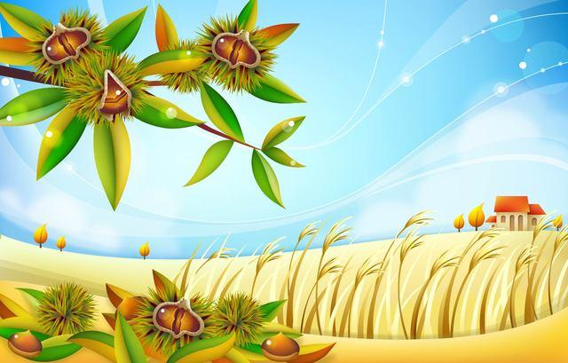 Free Autumn Chestnut Landscape