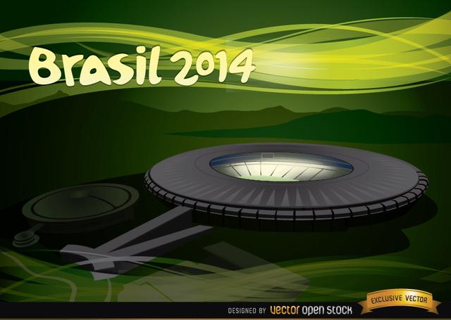 Free Maracana Stadium Brazil 2014