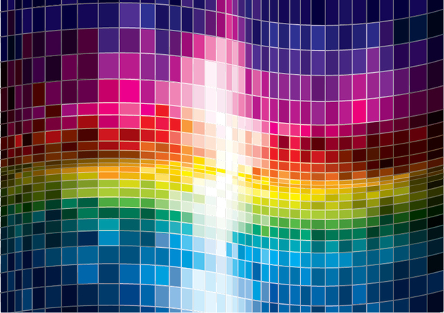 Free Colorful Spectrum Abstract Background