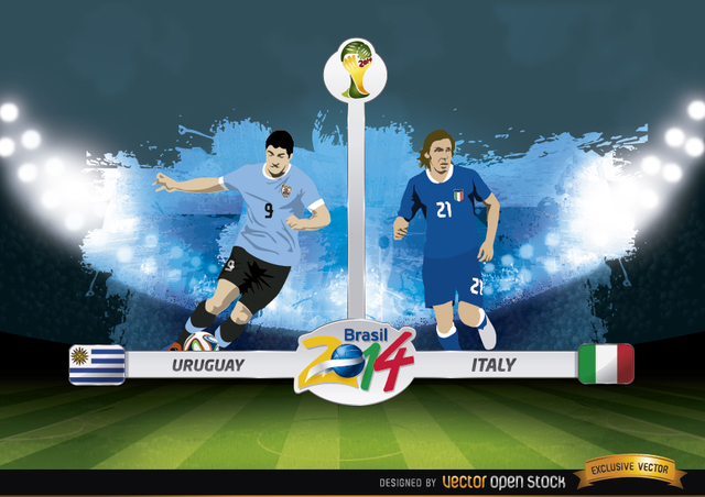 Free Uruguay vs. Italy match Brazil 2014