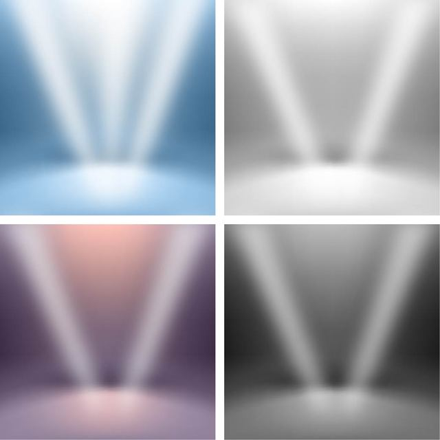 Free Vectors: Lights Falling on the Stage | Great
