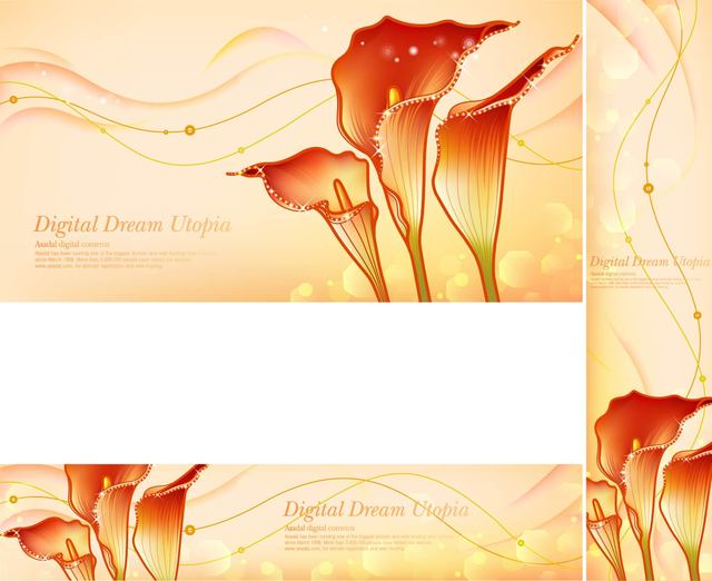 Free Golden Dream Red Zantedeschia Backgrounds