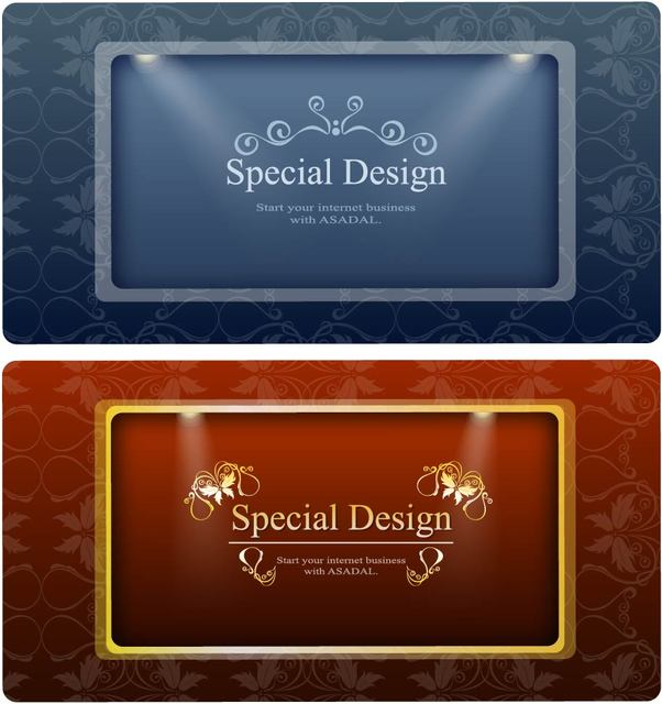 Free 2 Ornamental Banners with Lights