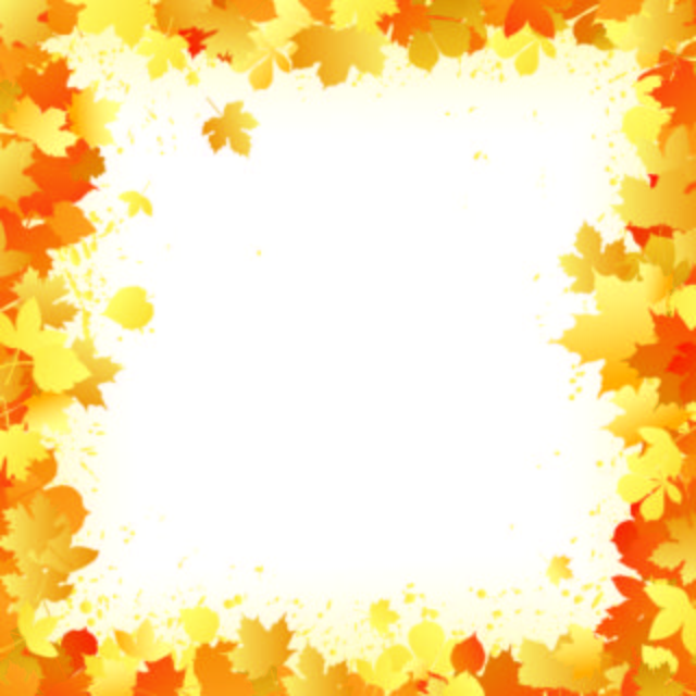 Free Vectors Autumn Leaves Frame With Grungy Splats Dragonartz