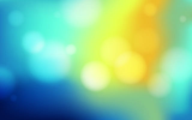 Free Colorful Background with Blurry Bokeh Bubbles