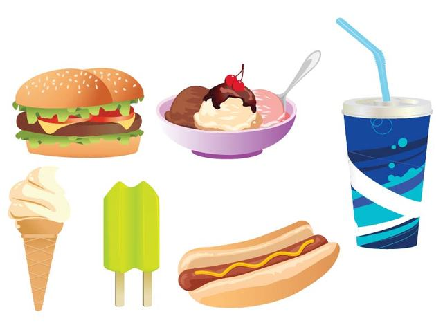 Free Yummy Junk Food Set