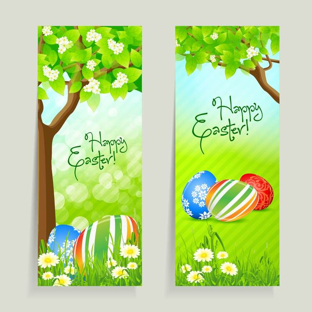 Free 2 Easter Card with Fresh Daisy