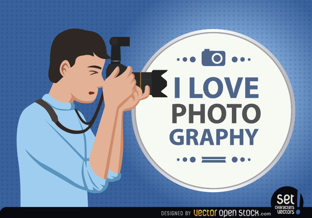 Free Photographer Loves his Profession