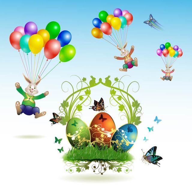 Free Creative Easter Elements