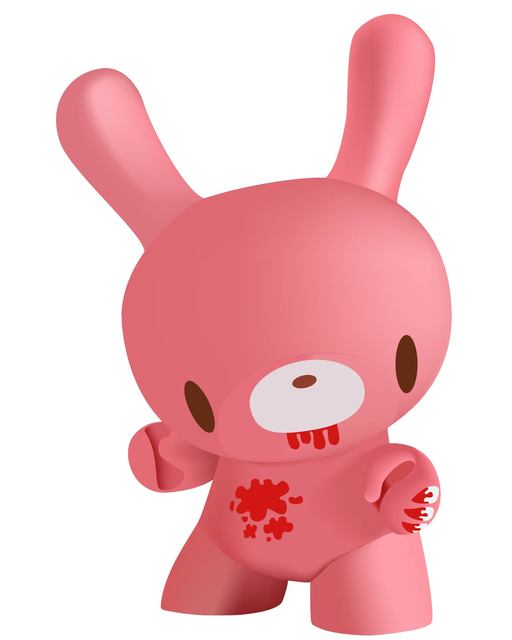 Free 3D Pinkish Bunny Toy