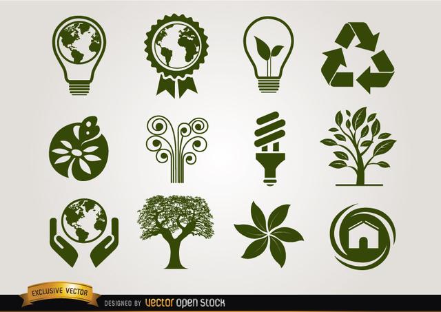 Free Ecologic icons green