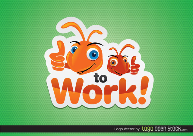 Free Funny Ant Logo