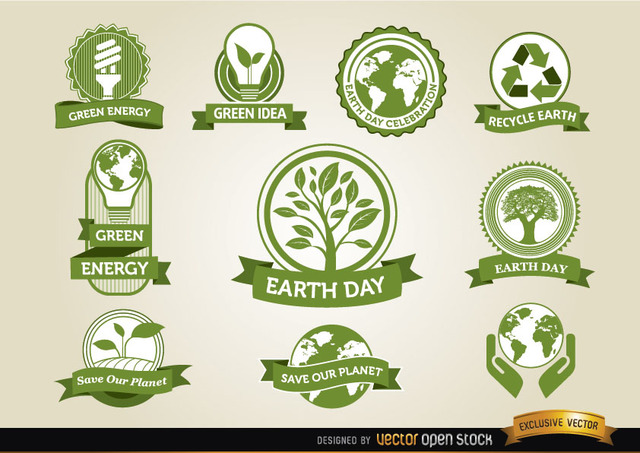 Free Earth Day Labels