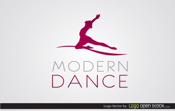 Free Modern Dance Logo