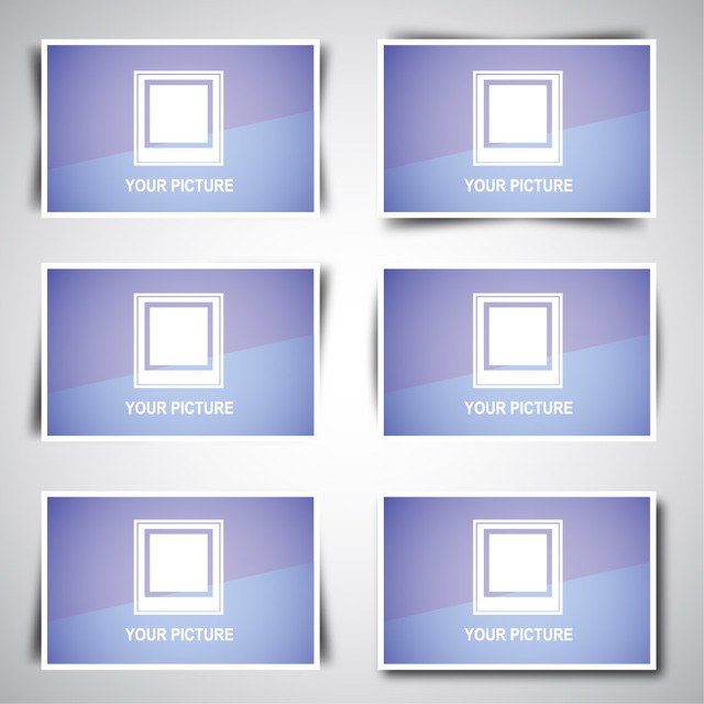 Free Web Image Box Pack with Shadow Designs