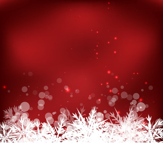 Free Abstract Winter Snowflake Background