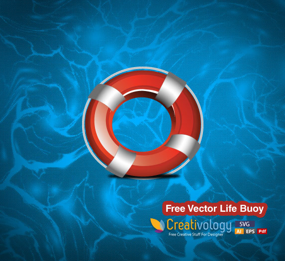Free Realistic Life Buoy