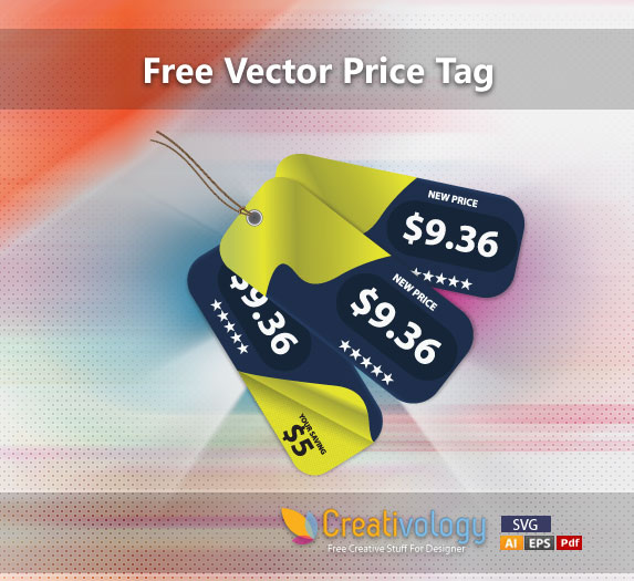 Free 3 Creative Price Tags