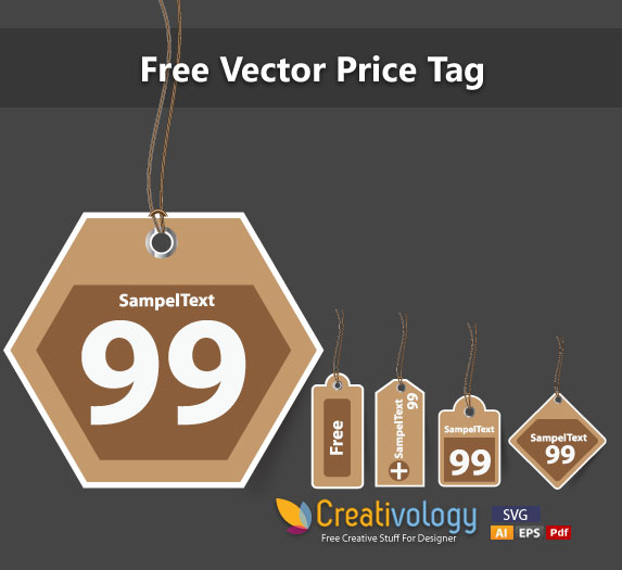 Free Vintage Price Tag Set