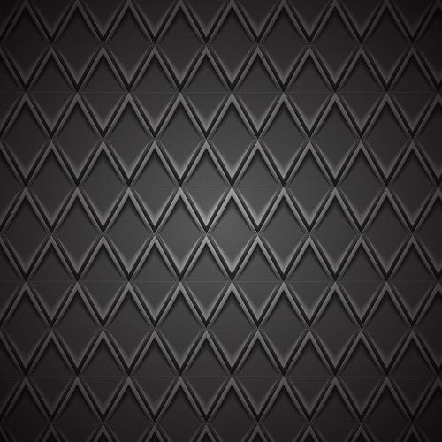 Free Geometric Emboss Metallic Pattern