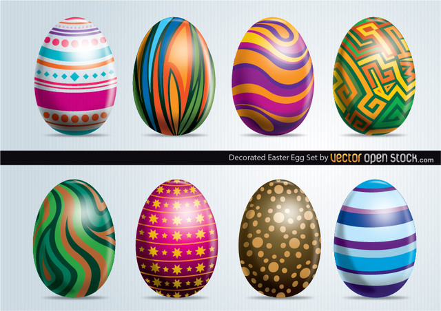 Free Easter Eggs Set