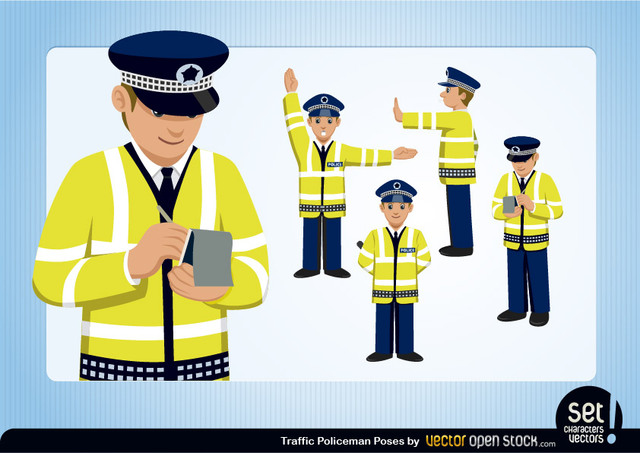Free Traffic Policeman Set