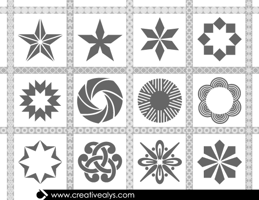 Free Elliptical Seamless Pattern Pack