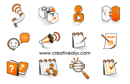 Free Funky Internet Icon Pack
