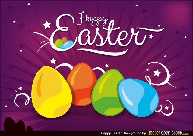 Free Happy Easter Background