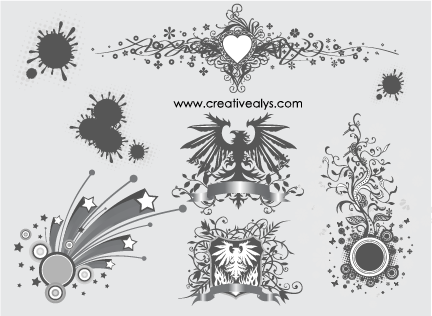 Free Creative Ornament and Design Elements